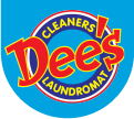 Dee's Laundromat Logo-blue-sm