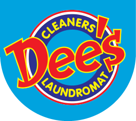 Dee's Laundromat Logo-blue